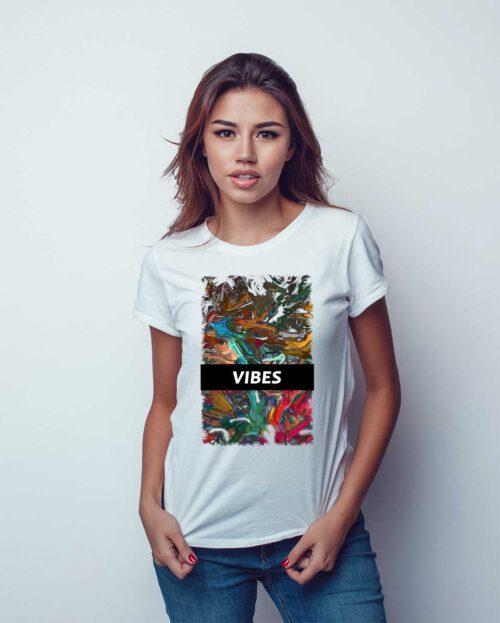 Kleiber T shirt Damen Organic VIBES