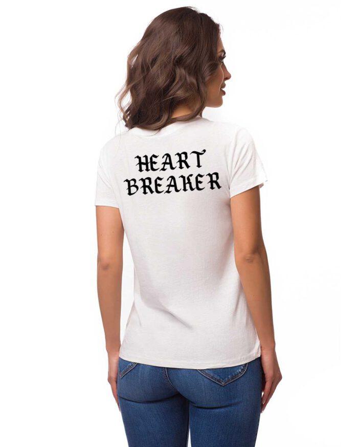 Organic T-shirt Damen Heart breaker