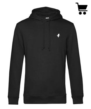 Insta 3 Kleiber Mode galerie hoodie schwarz vogel