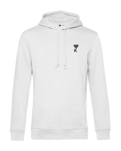 Kleiber hoodie weiss herz